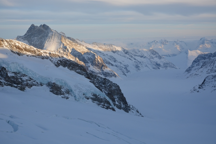 View from the Jungfraujoch research station. Photograph courtesy of Christopher Hoyle.