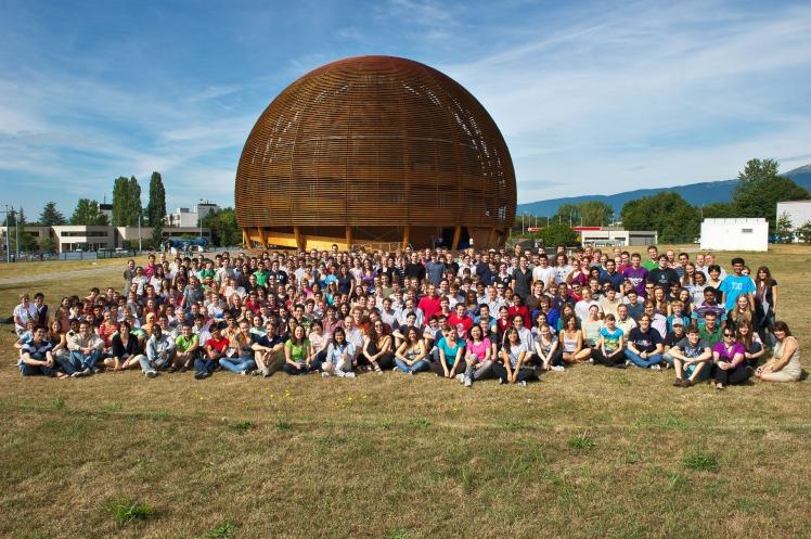 CERN summer students in 2010 (credit: Daniel Heinrich)