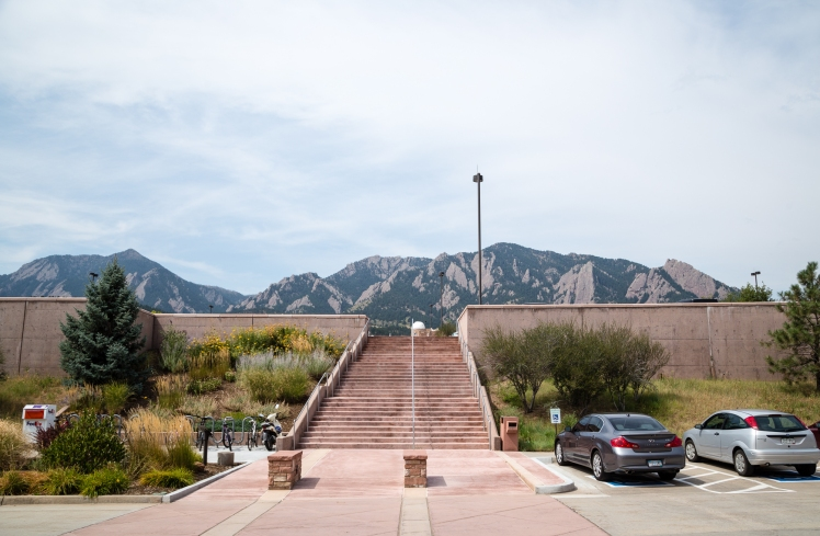 View from NOAA in Boulder, CO (credit: Josh Vertucci at VertucciVisual)