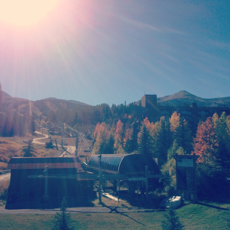 View from the conference center in Breckenridge (credit: Christina Williamson).