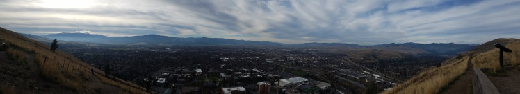 The city of Missoula, Montana. Photo credit: C. Womack
