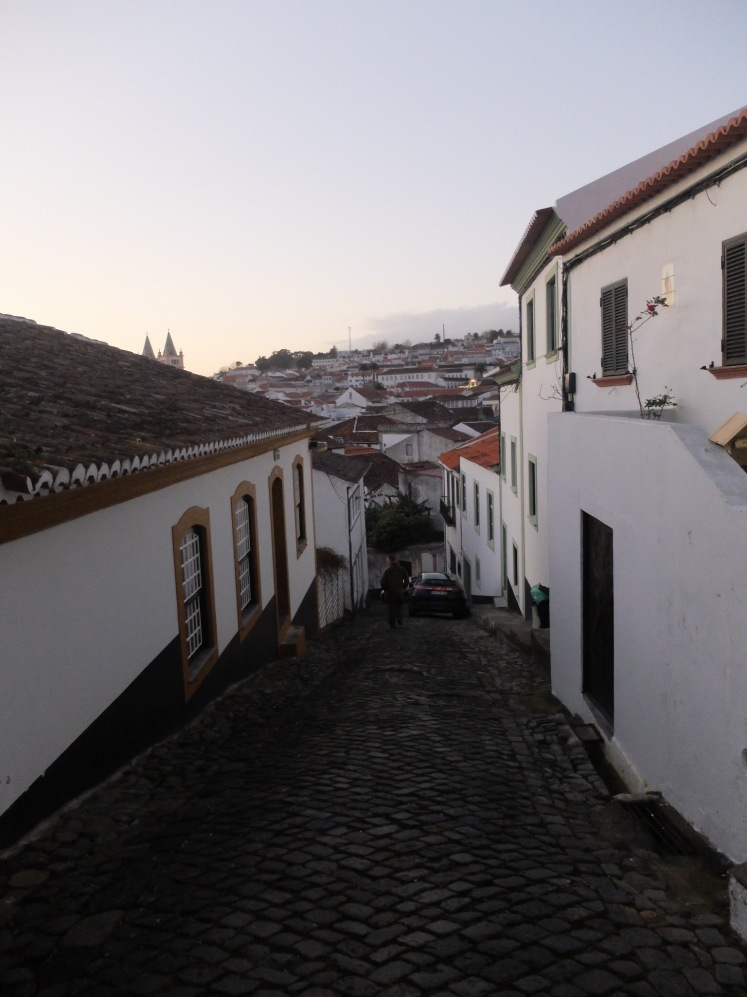 A street in Angra do Heroísmo (credit: Christina Williamson)