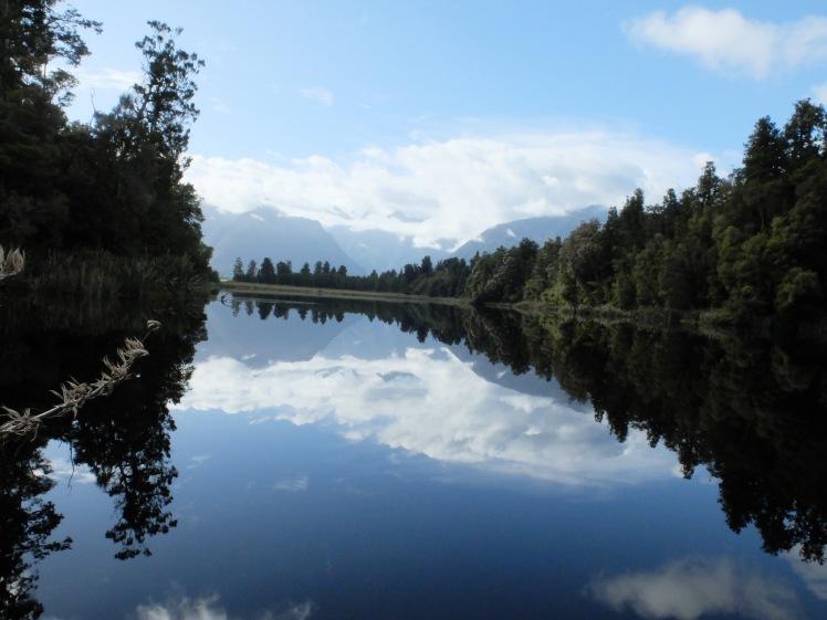 Views from Lake Matheson