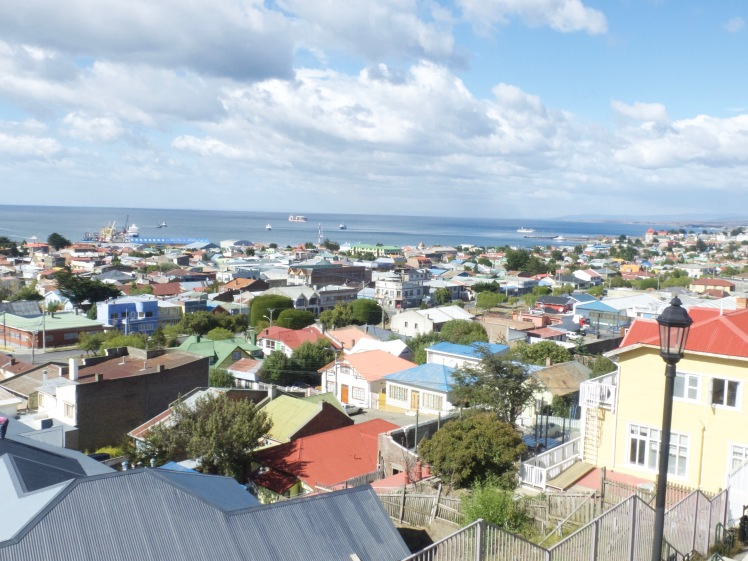 View over Punta Arenas, Chile (credit: Christina Williamson)